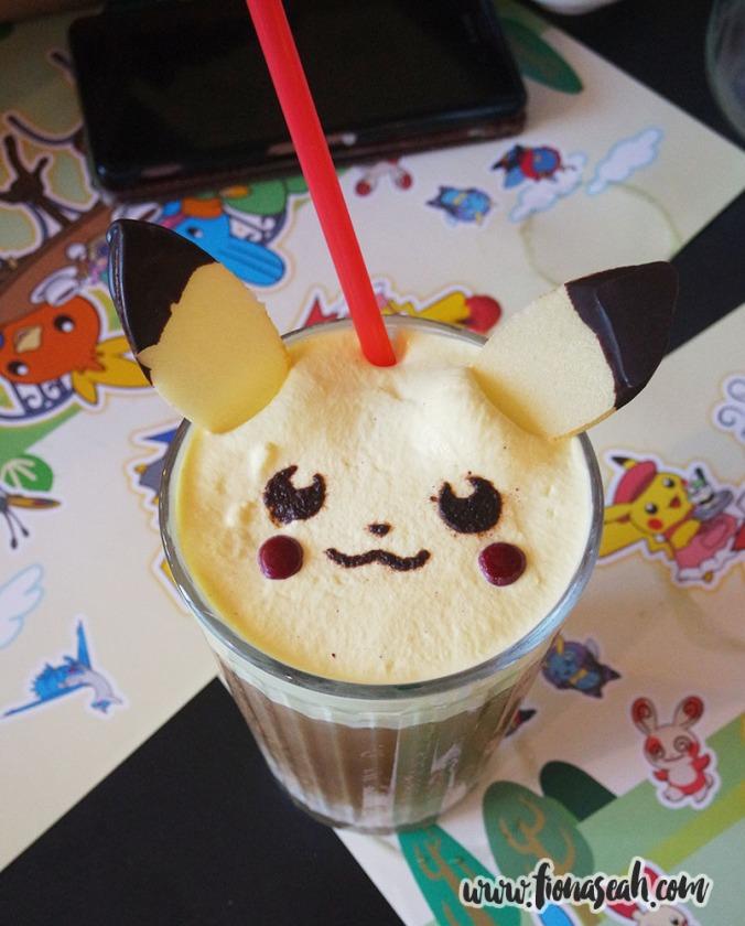 Iced Pikachu Latte