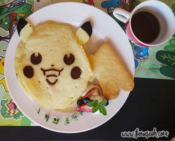 Pikachu's Sweeeeet Pancake