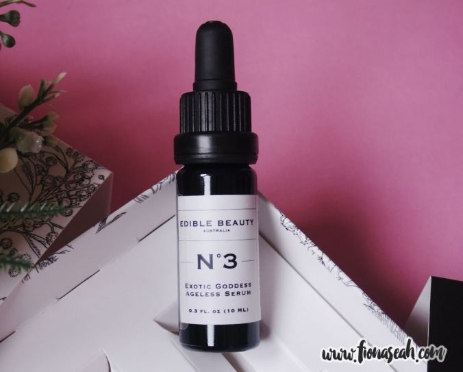 Edible Beauty On The Fly Travel Kit - #3 Exotic Goddess Ageless Serum