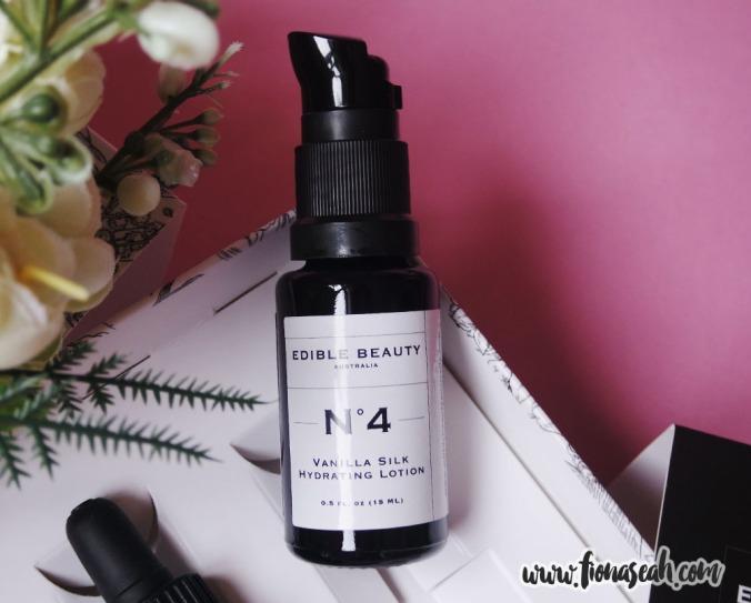 Edible Beauty On The Fly Travel Kit - #4 Vanilla Silk Hydrating Lotion
