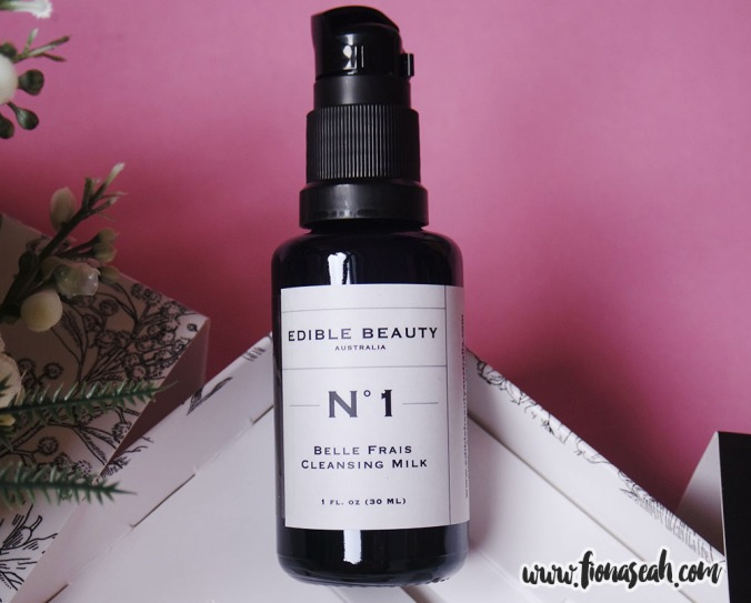 Edible Beauty On The Fly Travel Kit - #1 Cleansing Milk