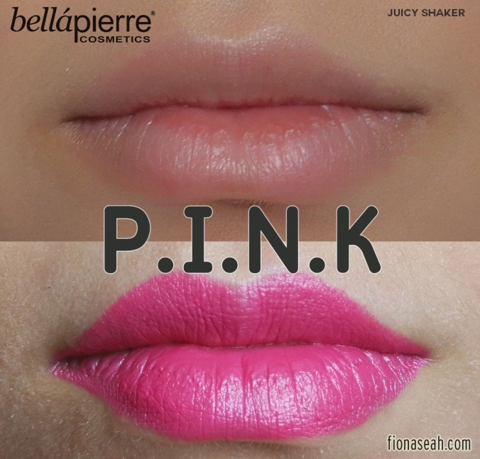 Bellápierre Lipstick in P.I.N.K