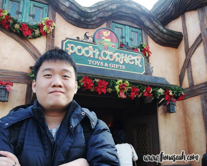 A must-visit place for the Pooh fanatic boyfriend..