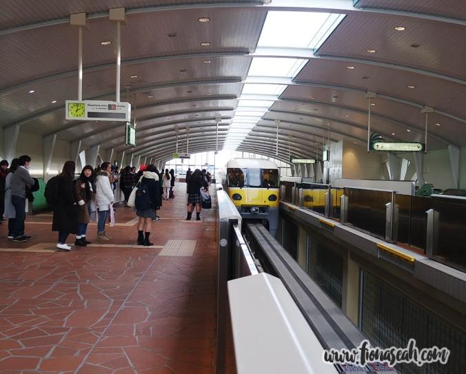 Train approaching!