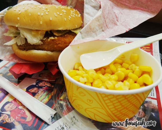 ..except for the Ebi Filet-O burger which has been highly raved online! Gotta try it to believe how good it is!