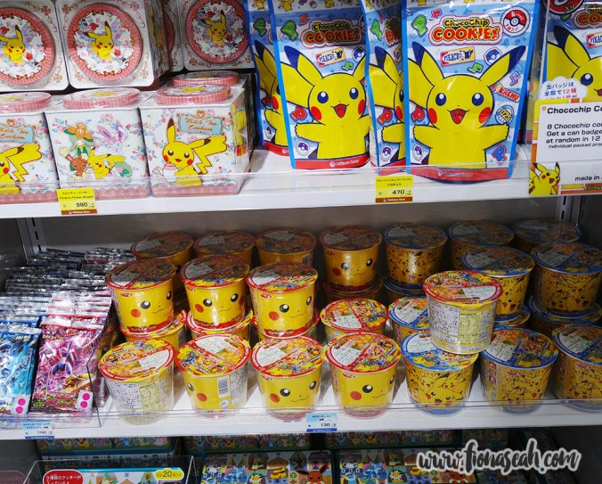 Snacks and cup noodles... ~_~ I can't take this anymore..