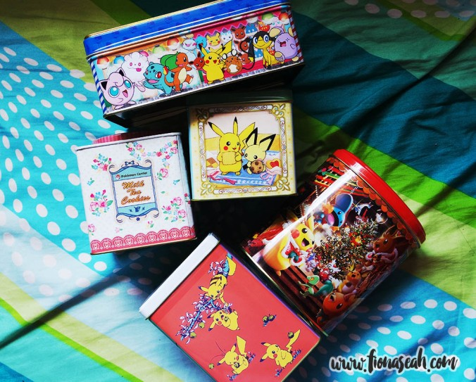 Snacks from Pokemon Center Mega Tokyo!