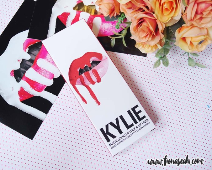 Kylie Cosmetics 22 Matte Lip Kit (US$29)