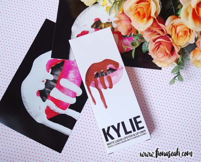 Kylie Cosmetics Dolce K Matte Lip Kit (US$29)