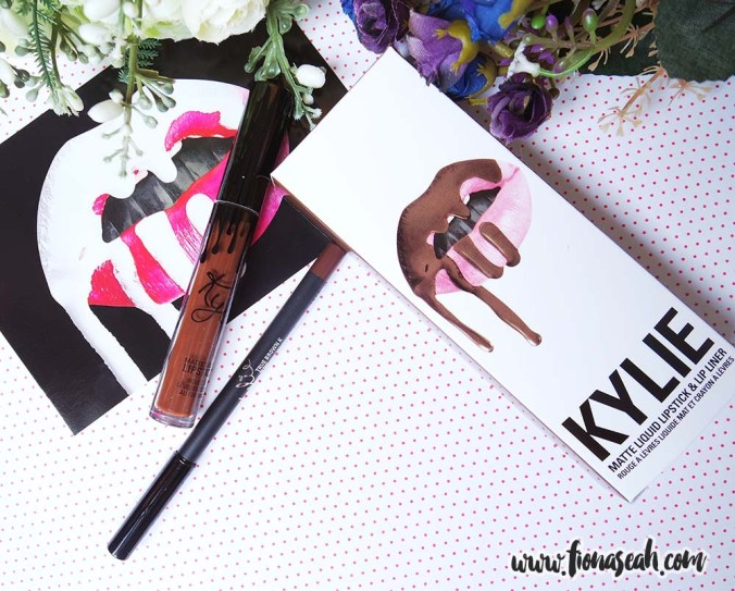 Kylie Cosmetics True Brown K Matte Lip Kit
