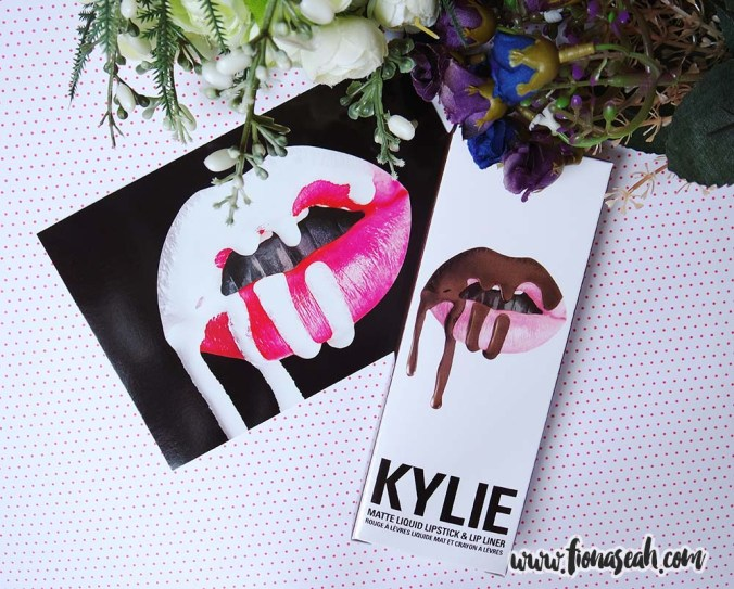 Kylie Cosmetics True Brown K Matte Lip Kit (US$29)