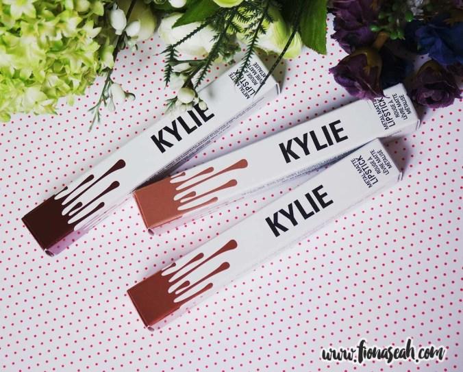 Kylie Cosmetics Metal Matte Liquid Lipsticks