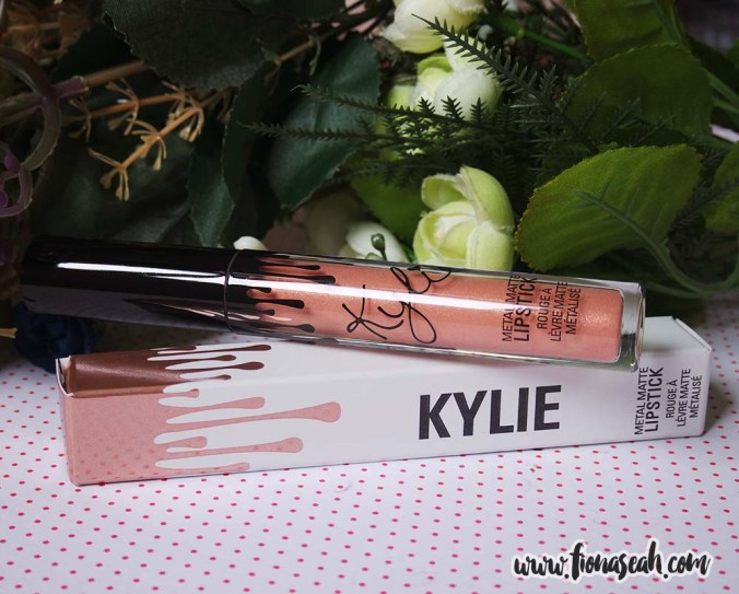 Kylie Cosmetics Metal Matte Liquid Lipstick in Heir (US$18)