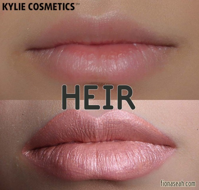 Kylie Cosmetics Metal Matte Liquid Lipstick in Heir
