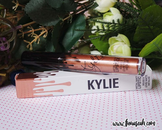 Kylie Cosmetics Metal Matte Liquid Lipstick in King K (US$18)