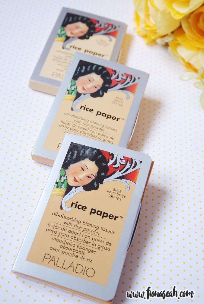 Palladio Rice Paper (S$6.90)
