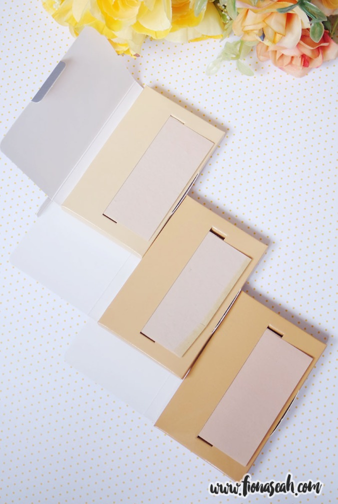 Three shades available in Translucent, Natural and Warm Beige