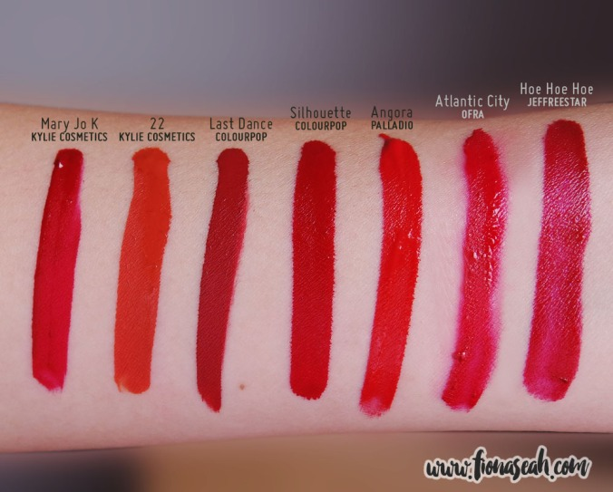 Swatch comparison for Angora