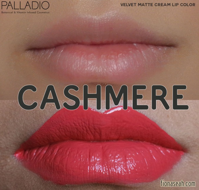 Palladio Velvet Matte Cream Lip Color in Cashmere