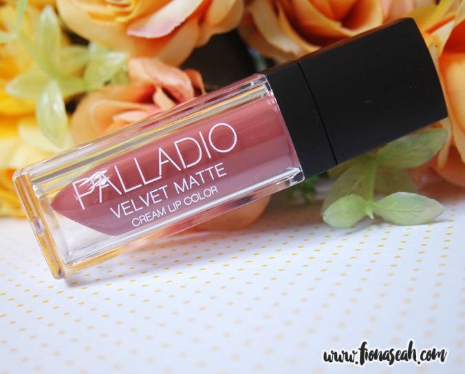 Palladio Velvet Matte Cream Lip Color in Raw Silk