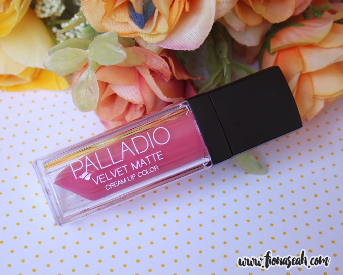 Palladio Velvet Matte Cream Lip Color in Sateen