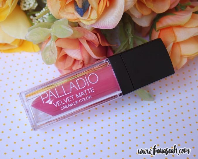 Palladio Velvet Matte Cream Lip Color in Sateen