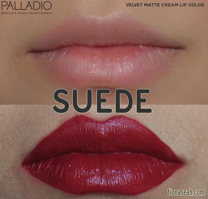 Palladio Velvet Matte Cream Lip Color in Suede