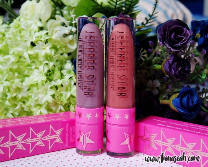 Jeffree Star Velour Liquid Lipsticks in Scorpio and Gemini