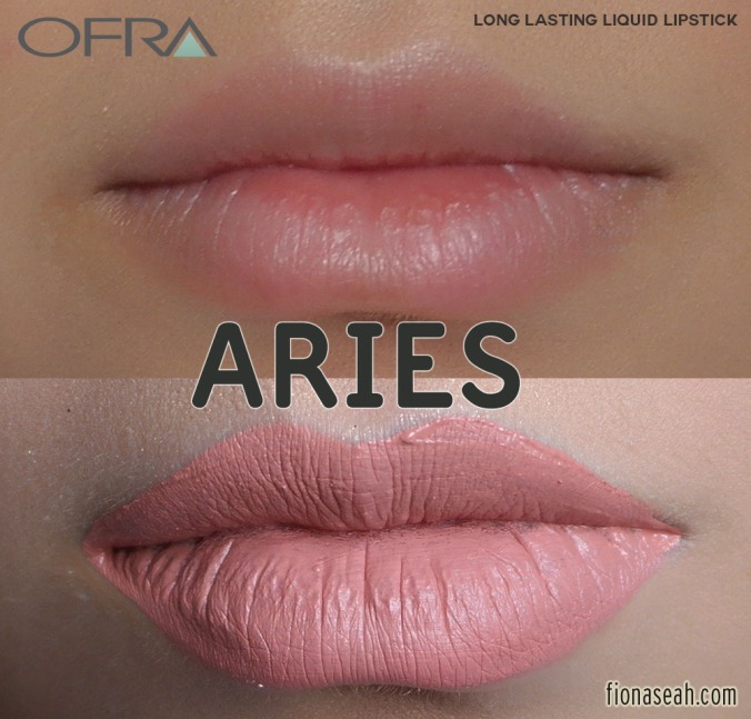 MannyMUA X OFRA Long Lasting Liquid Lipstick in Aries