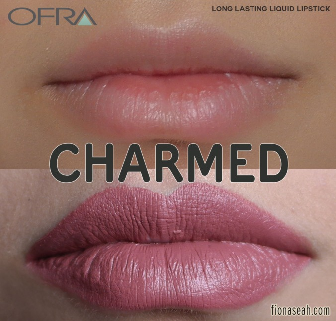 MannyMUA X OFRA Long Lasting Liquid Lipstick in Charmed