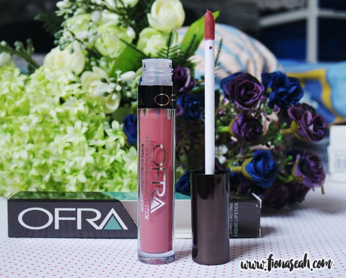 MannyMUA X OFRA Long Lasting Liquid Lipstick in Charmed (US$19.90)