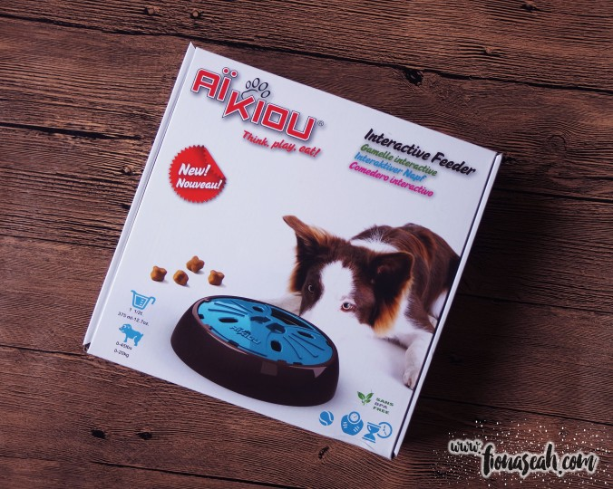 AiKiou Junior Interactive Dog Feeder