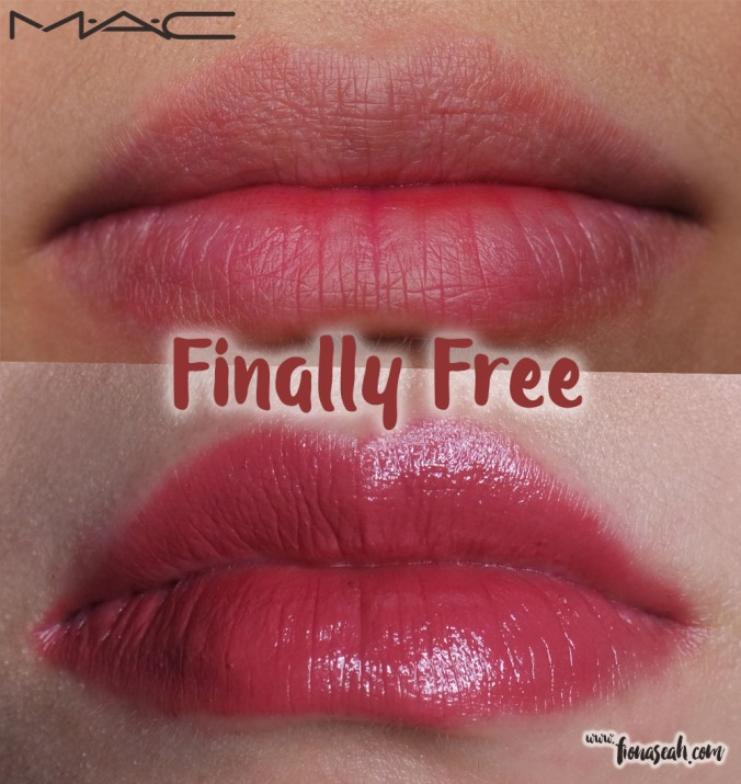 M.A.C X Caitlyn Jenner lipstick in Finally Free