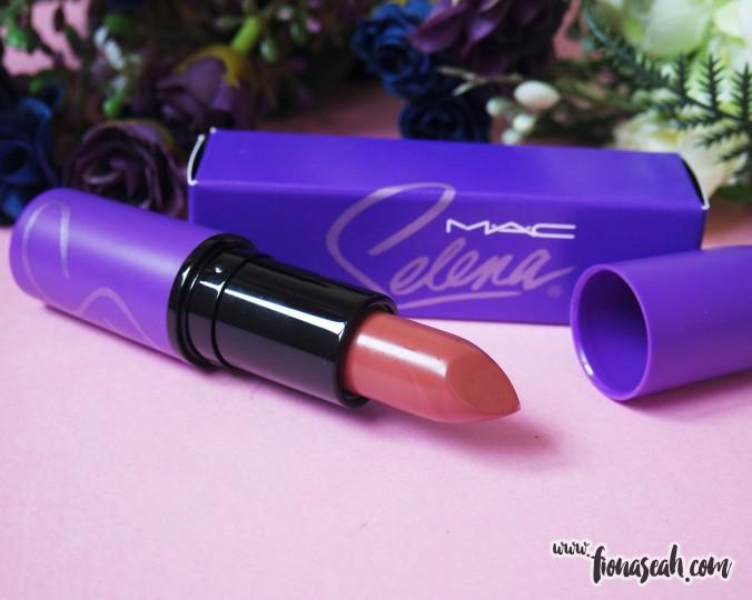 M.A.C Selena lipstick in Amor Prohibido (US$18)