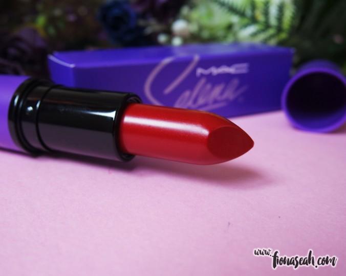 M.A.C Selena lipstick in Como La Flor