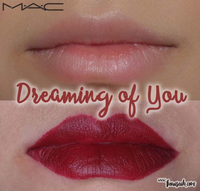 M.A.C Selena lipstick in Dreaming of You