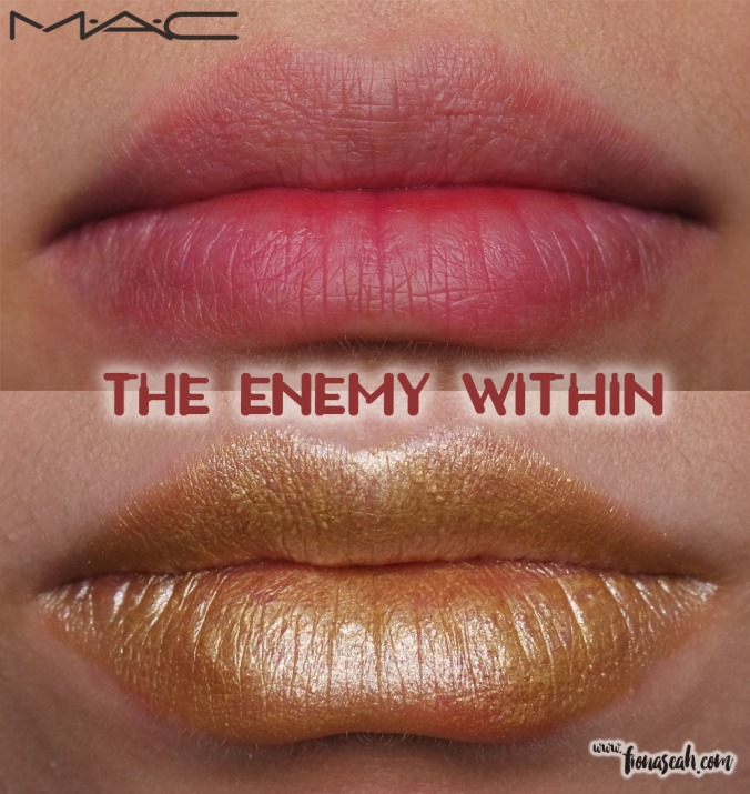 M.A.C X Star Trek lipstick in The Enemy Within