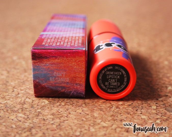 MAC Good Luck Trolls lipstick in Can't Be Tamed
