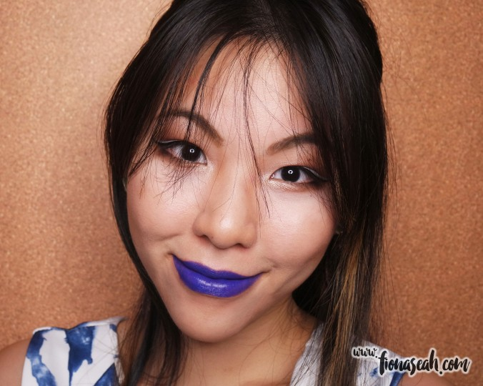 MAC Good Luck Trolls lipstick in Midnight Troll