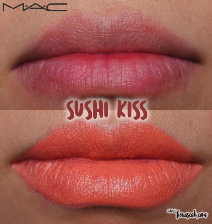 MAC Good Luck Trolls lipstick in Sushi Kiss