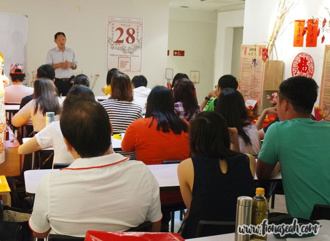 Cantonese class at Chinatown Heritage Centre (one of our venue sponsors)