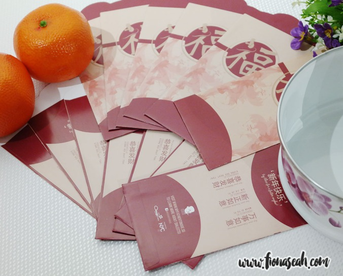 Red packets (marketing collateral)
