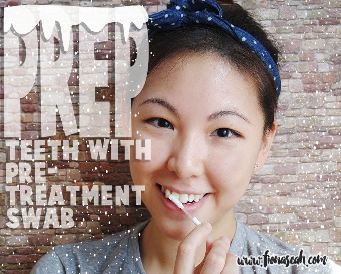 Step 2: Prep teeth with pre-treatment swab