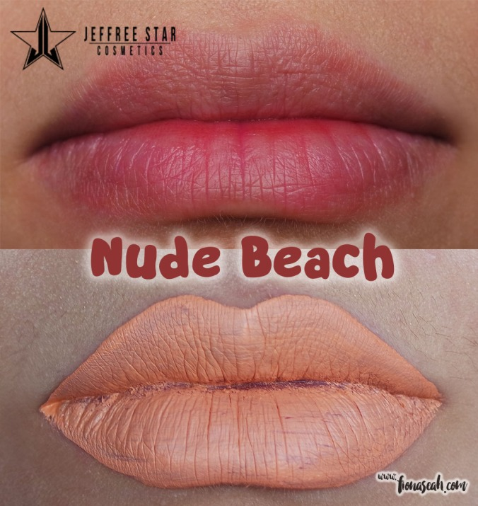 Jeffree Star Velour Liquid Lipstick in Nude Beach