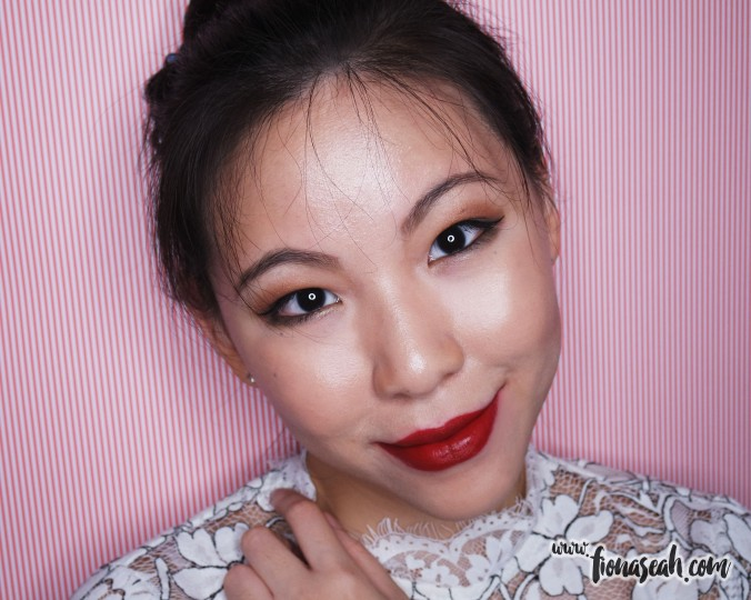 M.A.C X Charlotte Olympia lipstick in Retro Rouge