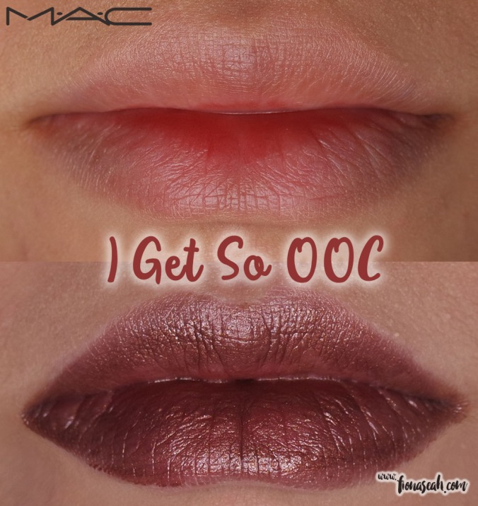 M.A.C X Mariah Carey Lipstick in I Get So OOC