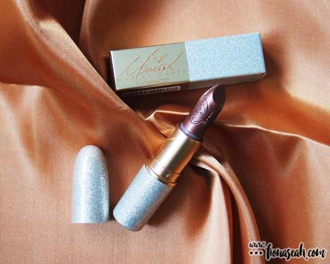 M.A.C X Mariah Carey Lipstick in I Get So OOC (US$20 / S$39)