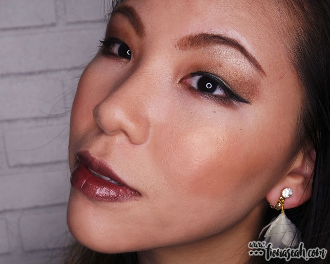 AFTER: M.A.C X Mariah Carey Extra Dimension Skinfinish in My Mimi