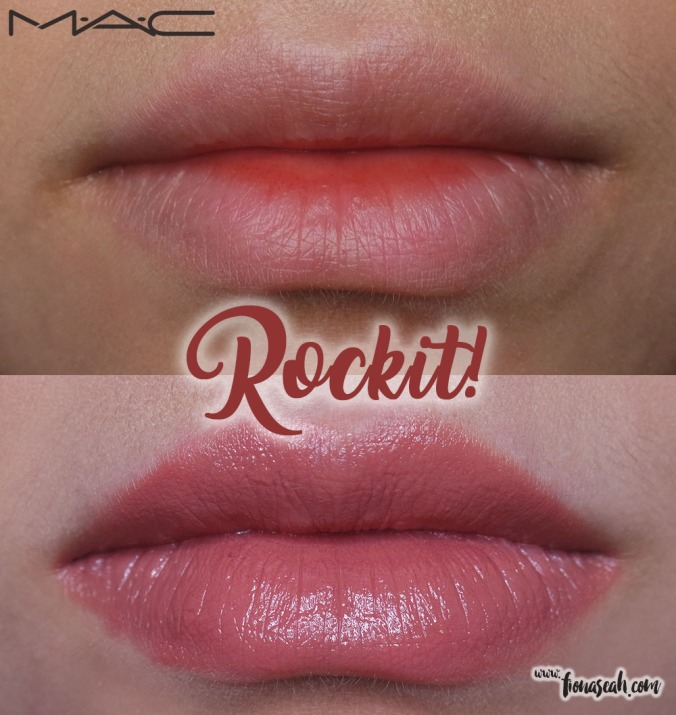M.A.C X Caitlyn Jenner lipstick in Rockit!