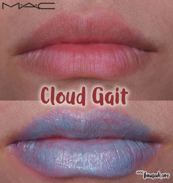 M.A.C X Chris Chang of Poesia lipstick in Cloud Gait